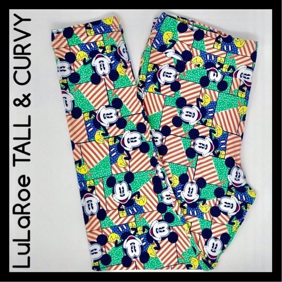 857a6dc0bfe12f LuLaRoe Pants | Leggings Disney Tall And Curvy 1222 | Poshmark